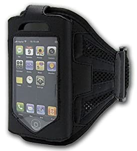 iPhone 4-4s Running Armband Case Cover Holder for Cycling | Jogging | Fitness Training | Exercise | Sports | Gym | Apple iPhone 4-4s Accessories by iChoose®