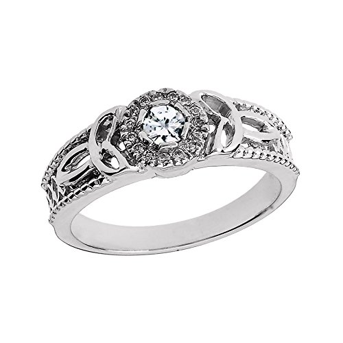 10k-White-Gold-Diamond-Ladies-Trinity-Knot-Proposal-Ring