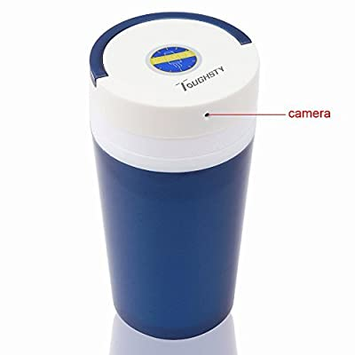 Toughsty™ Portable Hidden Camera Cup Motion Activated Video Recorder DV Camcorder with Audio Function