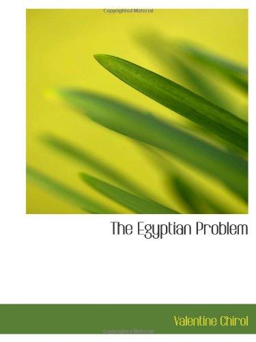 The Egyptian Problem