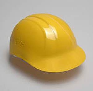 Bump Cap, Yellow, 4 Point Suspension Sizes 6 1/2 to 7 3/4, Lot 12