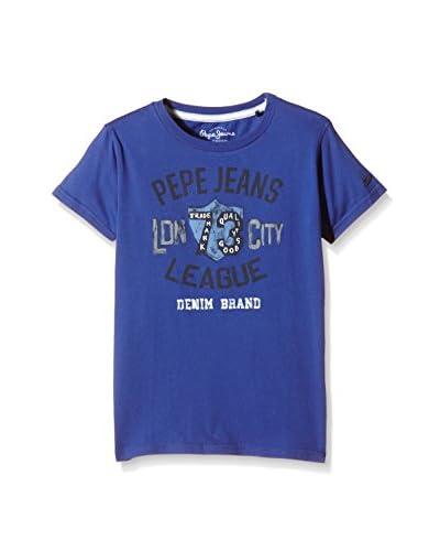Pepe Jeans London T-Shirt Manica Corta Layton [Blu Inchiostro]