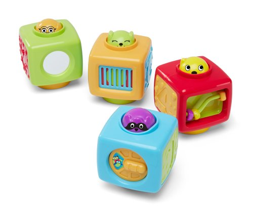 Earlyears Click 'n Spin Activity Blocks - 1