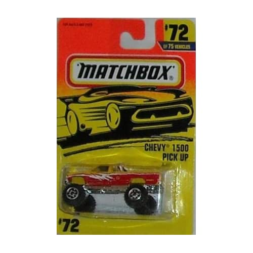 Matchbox 1996 Chevy 1500 Pickup Truck #72 Toys & Games