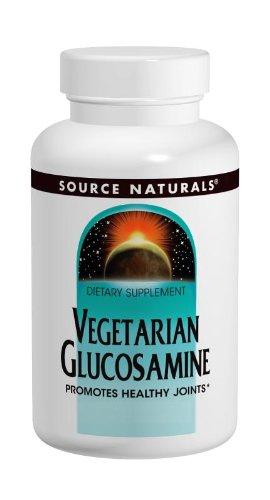 Source Naturals Végétarienne Glucosamine 750mg,