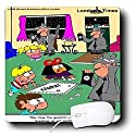 Londons Times Funny Society Cartoons - Goverment Breaks Up Monopoly. Abuse - Mouse Pads