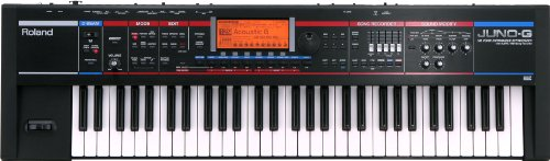 Roland JUNO-G 61 Key Workstation Music Keyboard