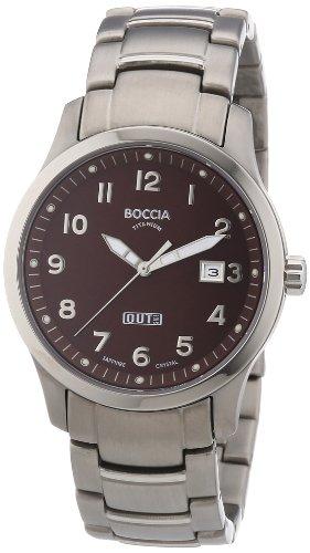 Boccia Men's Quartz Watch 3530-08 with Metal Strap