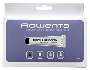 Rowentar Stainless Steel Soleplate Cleaning Kit Zd-110 from ROWENTA