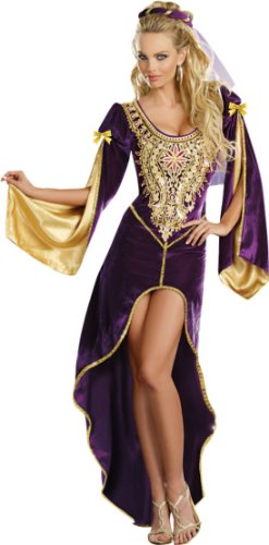 Queen Of Thrones Adult Womens Costume 3X-4X Adult Womens Costume