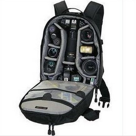 New Lowepro Mini Trekker Aw Photo Dslr Camera Bag Digital SLR Backpack with All Weather Cover