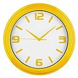 Acquista Premiere Housewares 2200640 Orologio da Parete Rotondo, Giallo