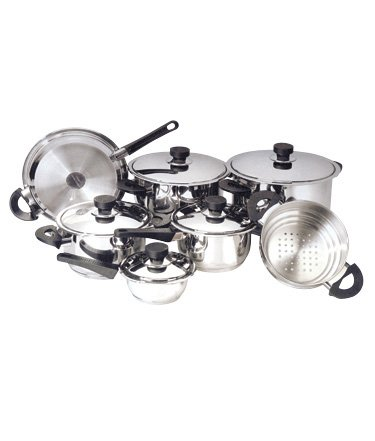 Strauss Platinum 12 Pc Cookware Set