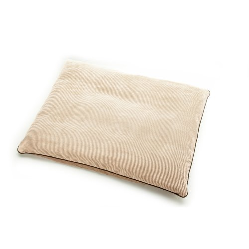 Neat Solutions For Pets Pillow Pet Lounge, Polycord With Piped Edge, 30-Inch By 40-Inch, Tapioca front-53337