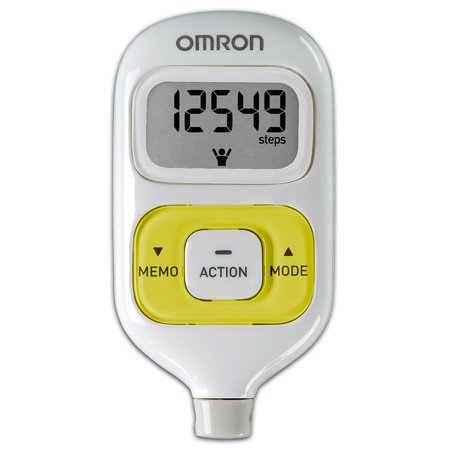 Cheap Omron HJ-203YL FITNESS DIAGNOSTICS Pocket Pedometer with Activity Tracker – Yellow (HJ-203YL)