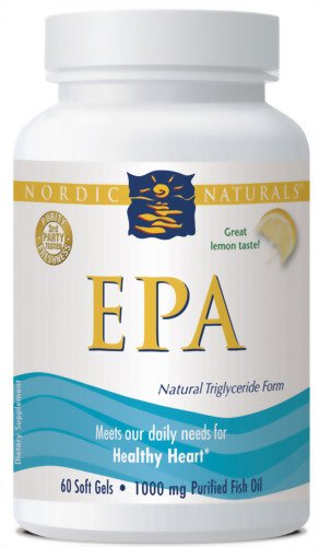 Nordic Naturals Epa Formula, 1000 Mg, 60 Soft Gels