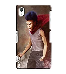 Omnam Small Child Annoying Printed Designer Back Cover Case For Sony Xperia Z2