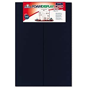 "Elmer's 902099 Elmer's Premium Display Board, 48""W x 36""H, Blue, Carton of 12"