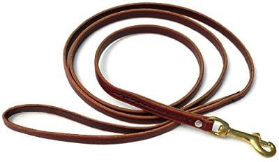 Signature K9 Standard Leather Leash