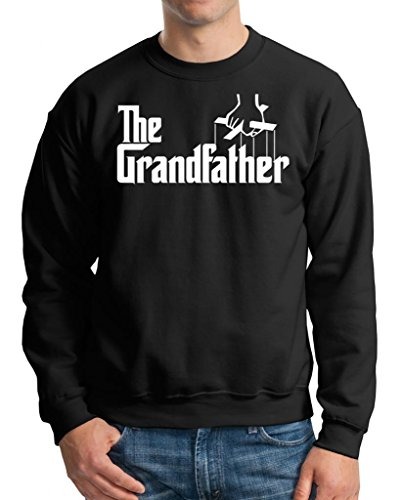The Grandfather Sweater Sweatshirt Gift X-Large Black