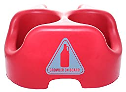 Growler on Board-Crimson