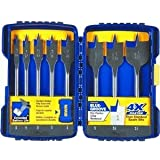 - Irwin 8-Pc. SpeedBor Flat Bit Set