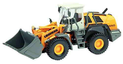 schuco-schu25801-vehicule-miniature-tracteur-charger-pelle-liebherr-550-2plus2-echelle-1-87