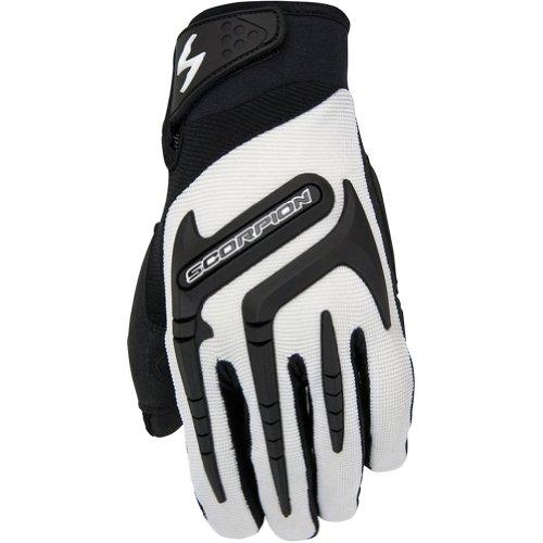scorpion skrub women  textile sports bike racing motorcycle gloves white  large klaus sanktjos
