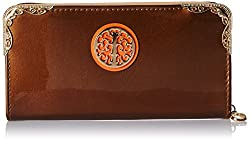 Alessia74 Women's Wallet (Brown) (PBG500C)