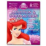 Disney Princess Addition & Subtraction Workbook
