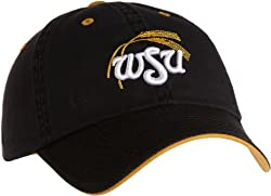 NCAA Wichita State Shockers Adult Adjustable Hat, Black