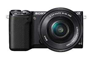 Sony NEX-5TL Compact Interchangeable Lens Digital Camera with 16-50mm Power Zoom Lens