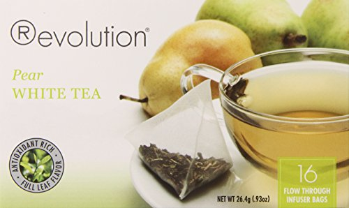 Revolution Tea Pear White Tea, 16 Count (Keurig K Cup Teas White compare prices)