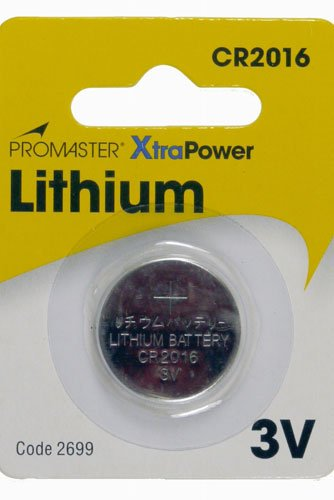 Promaster CR2016 Lithium Coin Cell Battery ковер kamalak tekstil ук 0515