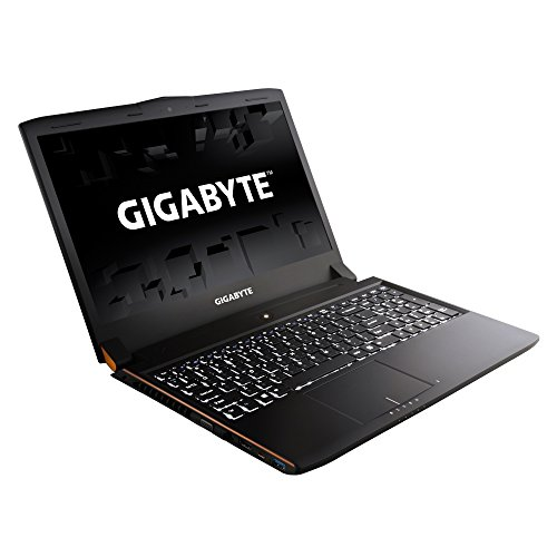 Gigabyte p55k v5 cf1 156 inch gaming laptop intel core i7 6700hq 260 ghz 8 gb ram 1 tb hdd 128 gb ssd nvidia geforce gtx 965m windows 10