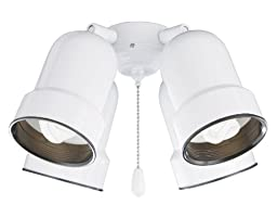 Emerson Ceiling Fans CFMLK4ORB 4-Light Bullet Light Fixture with Adjustable Arms
