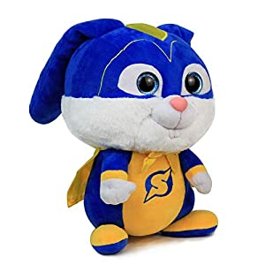 Juantin Store Soft Plush Toys for Toddlers 40CM New Secret Life 2 Rabbit Captain Snowball Pets of Bunny Lovely Soft Toy Stuffed Animal Figure Collectible Toy-Rabbit -40cm (Color: Rabbit, Tamaño: 40cm)