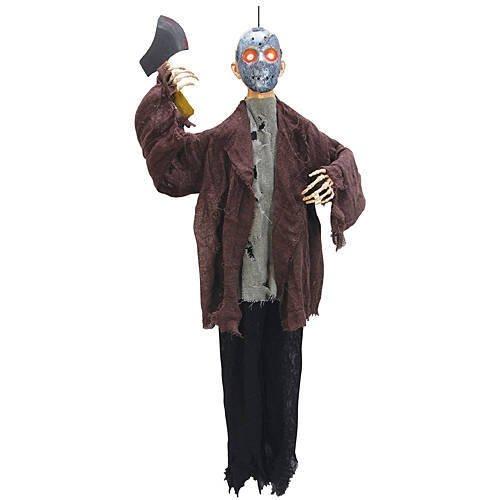 [Animated Hatchet Man] (Hanging Slashing Zombie)
