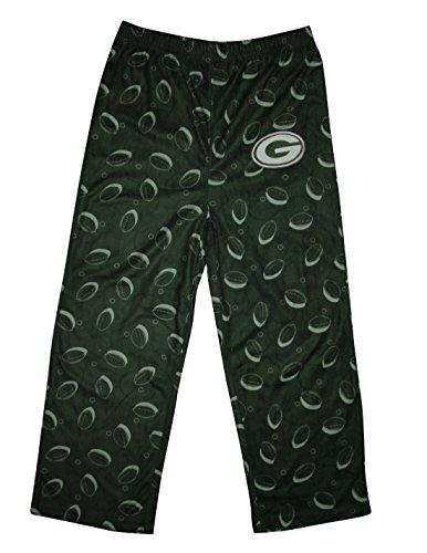 Nfl Green Bay Packers Boys Sleepwear / Pajama Pants 4-5 Multicolor front-994676