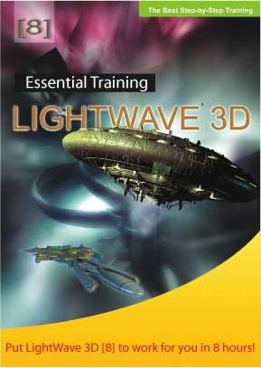 LightWave 3D version 8 Step-by-Step Training CD