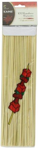 Ka-Me Bamboo Skewers, 100 Count (Pack Of 12)