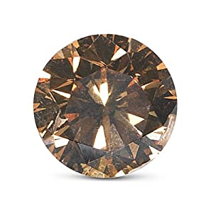 GIA Certified Natural Fancy Dark Orangy Brown (1pc) Loose Diamond - 1.53 Cts - I1 Clarity Round Brilliant