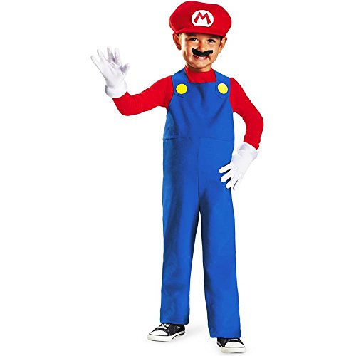 Disguise Nintendo Super Mario Brothers Mario Boys Toddler Costume