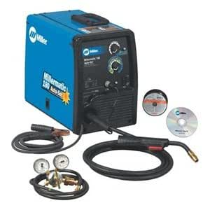 Millermatic 180 230V MIG Welder with Thermal Overload Detection