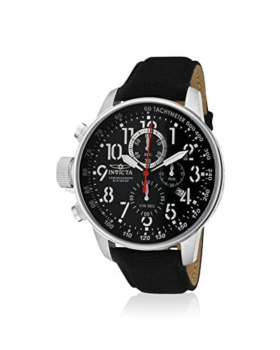 Invicta Men's 1512 Force Collection Left-Handed Black Canvas Watch