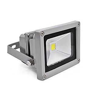 10W 12V LED Flood Wash Light Outdoor Security Floodlight Cool White by Tianhong
