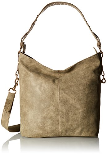 Steve Madden Klint Shoulder Handbag,Grey,One Size