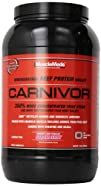 Muscle Meds Carnivor Beef Protein Powder Strawberry 2 Pound