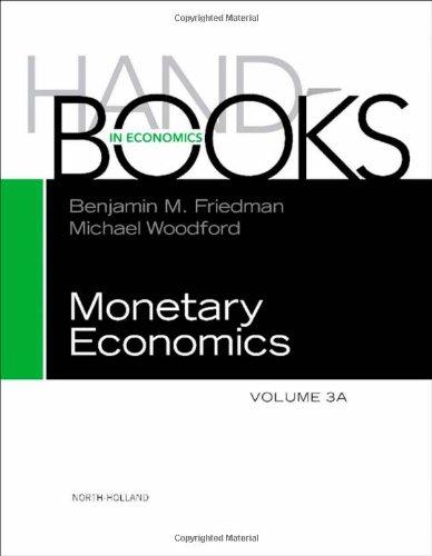 Handbook of Monetary Economics 3A