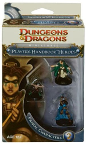 Imagen de Wizards of the Coast - Miniaturas de Dungeons & Dragons: Heroes 2 Primal PHB
